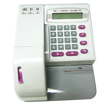 MOA MCEC 310 Cheque Writer