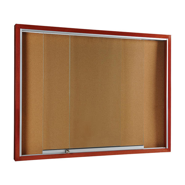 notice board - wooden frame
